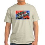 Camp Wolters Texas (Front) Ash Grey T-Shirt