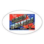 Camp Wolters Texas Oval Sticker