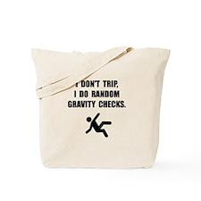 Gravity Checks Tote Bag