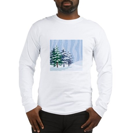 Mountain Long Sleeve T-Shirt