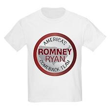 Romney Ryan Comback Team 1.png T-Shirt