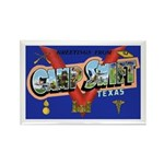 Camp Swift Texas Rectangle Magnet