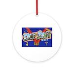 Camp Swift Texas Ornament (Round)
