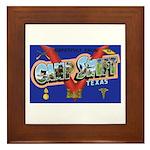 Camp Swift Texas Framed Tile