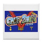 Camp Swift Texas Tile Coaster