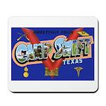 Camp Swift Texas Mousepad