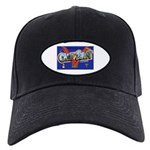 Camp Swift Texas Black Cap