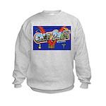 Camp Swift Texas (Front) Kids Sweatshirt