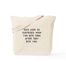 Kids Bite Tote Bag