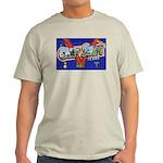 Camp Swift Texas (Front) Ash Grey T-Shirt