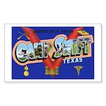 Camp Swift Texas Rectangle Sticker