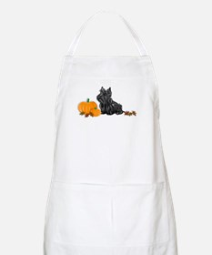 Scottish Terrier Halloween BBQ Apron