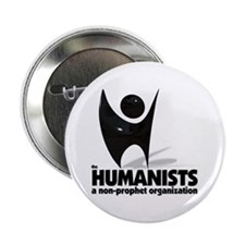 """Humanist Logo 2.25"""" Button (10 pack)"""