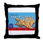 Army Air Forces Flying School Throw Pillow