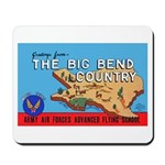 Army Air Forces Flying School Mousepad