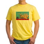 Army Air Forces Flying School Yellow T-Shirt