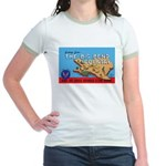 Army Air Forces Flying School Jr. Ringer T-Shirt