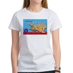 Army Air Forces Flying School (Front) Women's T-Sh