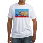 Army Air Forces Flying School Fitted T-Shirt