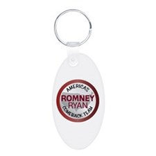 Romney Ryan Comback Team 1.png Aluminum Oval Keych