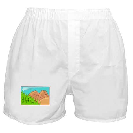 Mountain Boxer Shorts