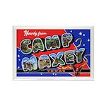 Camp Maxey Texas Rectangle Magnet