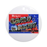Camp Maxey Texas Ornament (Round)