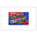Camp Maxey Texas Large Poster