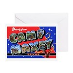 Camp Maxey Texas Greeting Cards (Pk of 10)