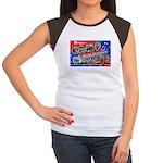 Camp Maxey Texas (Front) Women's Cap Sleeve T-Shir