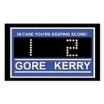 GORE 1 KERRY 2 Rectangle Sticker