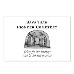 #5 Savannah Pioneer Cemetery Postcards (Pkg of 8)