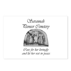 #3 Savannah Pioneer Cemetery Postcards (Pkg of 8)