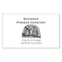 #5 Savannah Pioneer Cemetery Decal