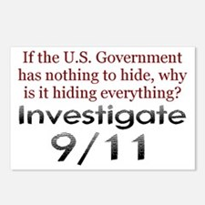 Investigate 9/11 Postcards (Package of 8)