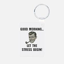 Morning Stress Keychains