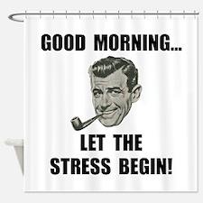 Morning Stress Shower Curtain