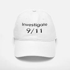 Investigate 9/11 Now! Baseball Baseball Cap