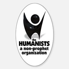 Humanist Logo Oval Decal