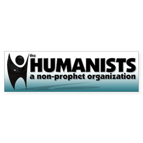 Humanist Logo Bumper Sticker