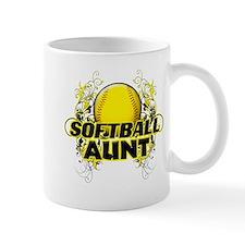 Softball Aunt (cross).png Mug