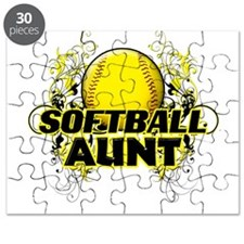 Softball Aunt (cross).png Puzzle