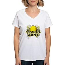 Softball Aunt (cross).png Shirt