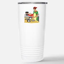 Chef Stainless Steel Travel Mug