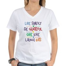 Live Simply Affirmations Shirt