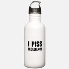 I Piss Excellence Water Bottle