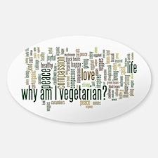 Why Am I Vegetarian Decal