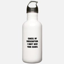 Subscription Issues Water Bottle