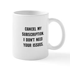 Subscription Issues Mug