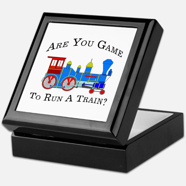 Game To Run A Train - Keepsake Box